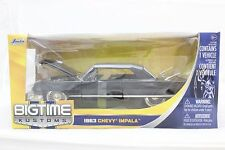 Jada 1963 Chevy Impala black 1/24 Diecast new In Box