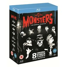 Universal Classic Monsters Dracula+Frankenstein+Mummy+ New Blu-ray