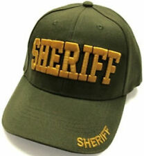 SHERIFF baseball cap, Puff Embroidery, Gift Idea