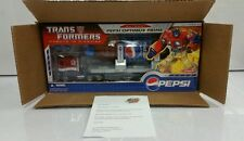 Transformers Pepsi Optimus Prime MIB Convoy Botcon 2007 Hasbro w/ Document RARE