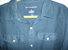 Old Navy Linen Long Sleeve/ Button Front Safari/Military Style Shirt  Sz- L