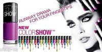 Select Your Colors - Maybelline Color Show Nail Enamel Lacquer Polish 6 ml size