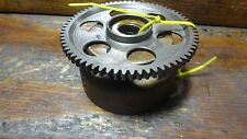 1977 SUZUKI GS750 GS 750 SM319 ENGINE FLYWHEEL STARTER CLUTCH GEAR ASSEMBLY