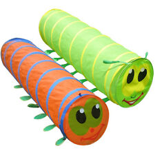 New Caterpillar Play Tunnel Toy Tent Child Kids Pop up Discovery Tube Best Gift