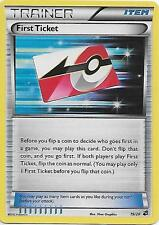 Pokemon First Ticket TRAINER 19/20 Shattered Holo Dragon Vault Card  MINT
