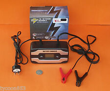 SMART 6 STAGE BATTERY CHARGER LCD DISPLAY 6V or 12V OUTPUT CURRENT 2/4/6 AMP VW