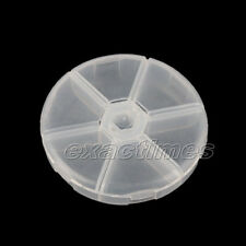 Plastic Empty Storage Box Case Nail Art Rhinestones Fimo Slice Gems Container