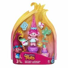 Dreamworks Trolls Poppy's Party Story Playset Pack Brand New Sealed - Poppy