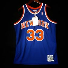 100% Authentic Patrick Ewing Mitchell & Ness 91 92 Knicks Jersey Size 48 XL