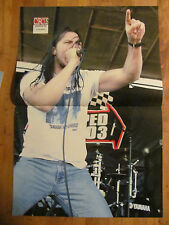Andrew WK, Two Page Centerfold, Korn Pinup
