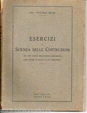 Muzii ; ESERCIZI DI SCIENZA DELLE COSTRUZIONI ; Arti Grafiche Ortona a Mare 1933