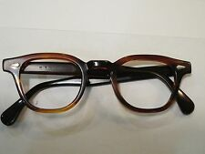 Vintage Tart Optical OTE Arnel Amber. 44-24 NO Envelope 5 3/4 inch temple