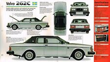 VOLVO BROCHURES / Road Test COLLECTION : 262C bertone,S80 T6,C70,S-80