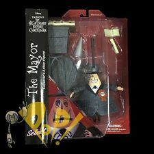 NBX Nightmare Before Christmas MAYOR Action Figure DIAMOND Select Toys!