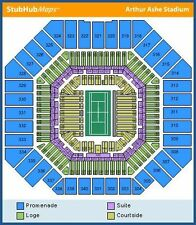 1-4 US Open 2016 Tennis Championship Tickets 09/09/16 (Flushing) SEC. 340 ROW H