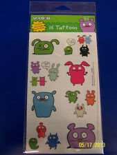 Uglydoll Ugly Dolls Cartoon Kids Birthday Party Supplies Favor Temporary Tattoos
