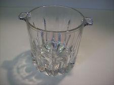 Vintage Crystal Glass Ice Bucket Wine Bucket Cooler/Chiller