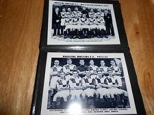 Bristol ROVER FOOTBALL CLUB ALBUM FOTO (1950's + +)
