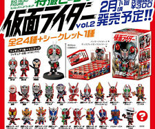 Mini Big! Head Figure Tokusatsu Heroes Kamen Rider Vol.2: 1 Box 20pcs