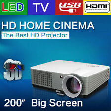 RD801 2200 Lumens LED LCD TV HDMI Portable Multimedia 3D Game Event Projector