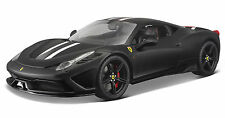 Bburago 1:18 Signature Series 458 Speciale Black