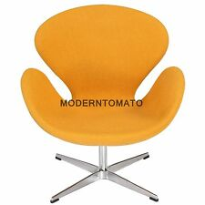 swan chair by moderntomato - mustard - mid century modern retro womb egg danish