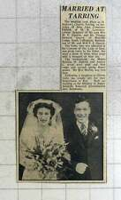 1949 Joan Elphick Weds Thomas Quarry, Rutland