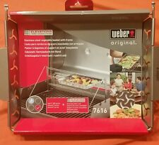Weber Elevations Tiered Cooking System Stainless steel Vegetable Basket
