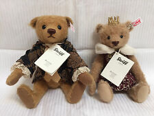 NWT - Pair of Steiff Teddy Bears *SIR EDWARD and ANTONIA* 2013 Limited Editions