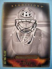 2011-12 Parkhurst Champions Black & White Renditions # 151 Patrick Roy!