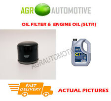 PETROL OIL FILTER + C1 5W30 OIL FOR DACIA SANDERO STEPWAY 1.2 75 BHP 2013-