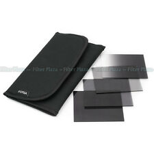 4pcs ND Neutral density ND2 ND4 ND8 Graduated Grey Filter Kit for Cokin P w Case