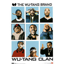 Wu Tang Clan Animated 24x36 poster Bobby Digital ODB Ghostface RZA GZA CHEF NEW!