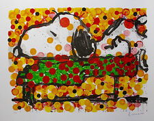 TOM EVERHART PLAY THAT FUNKY MUSIC Hand Signed Limited Edition Lithograph SNOOPY