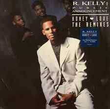 """R. KELLY AND PUBLIC ANNOUNCEMENT - Honey Love (The Remixes) (12"""") (VG-/VG-)"""