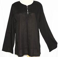 M L BOHO Renaissance Pirate Hippie Peasant YOGA Kurta Top Cotton Mens Unisex
