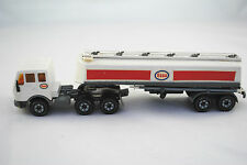 SIKU Old V288 MERCEDES-BENZ 2232 Artic.Truck with Road Tanker in ESSO Livery VGC