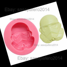 Star Wars Stormtrooper siicone mold for chocolate, fondant, resin, clay