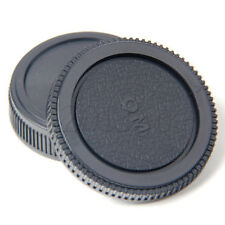 Plastic Set Rear lens Body cap for Olympus Camera OM 4/3 E620 E520 E510 YG