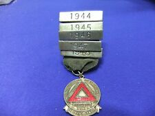 vtg badge bus lorry driver safe driving award war years ww2 1944 48 rospa 5 yrs
