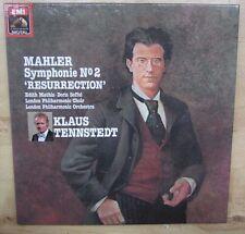 2 LP BOX - MAHLER - SYMPHONIE No.2 - TENNSTEDT - EMI 2C 167-43141 / 2  - NM/NM