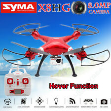 Syma X8HG RC 8MP HD Camera Drone 2.4GHz 4CH 6 Axis Gyro Airplane Helicopter Quad