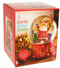 Christmas Santa Clause Snow Globe Xmas Festive Ornament New