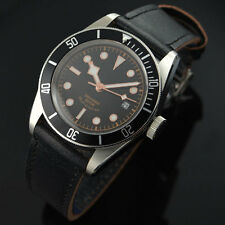 41mm Corgeut Sapphire Glass black dial Miyota 8215 Automatic Mens Watch 005