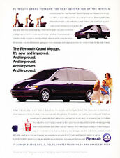 1996 Plymouth Grand Voyager Van - Classic Car Advertisement Print Ad J72