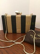 Kate Spade Down the Rabbit Hole BEE CLASP CLUTCH,NWT REDUCED! Beauty!