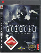 The Chronicles of Riddick - Assault on Dark Athena  (PlayStation3)