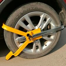 US Wheel Tire Lock Clamp Parking Boot Anti Theft for Boat Trailer Car SUV ATV RV