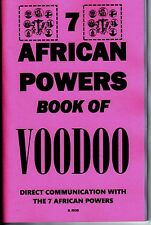THE 7 AFRICAN POWERS BOOK OF VOODOO book seven occult orishas