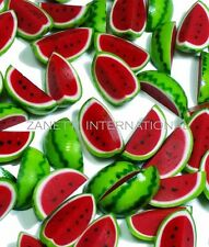 10 Dollhouse Miniature Watermelon Slices *Doll Mini Food Set Fruit Wholesale Lot